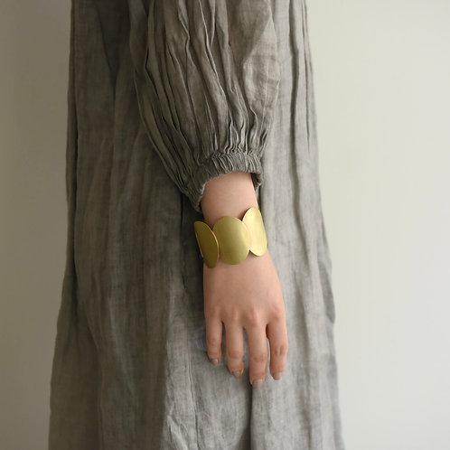 青木三千代|ブレスレット真鍮