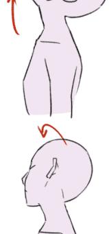 頚の動きで背中の痛み