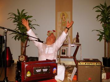 Kirtan at the Dallas Meditation Center