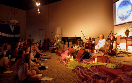 Kirtan at Center for Spiritual Living