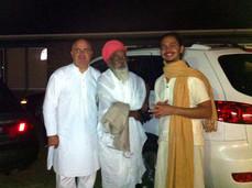 Swamiji & Gangaji, 2011