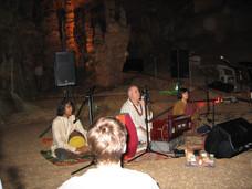 Kirtan in the Cave, Boerne, Texas