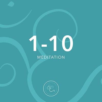 1-10 meditation
