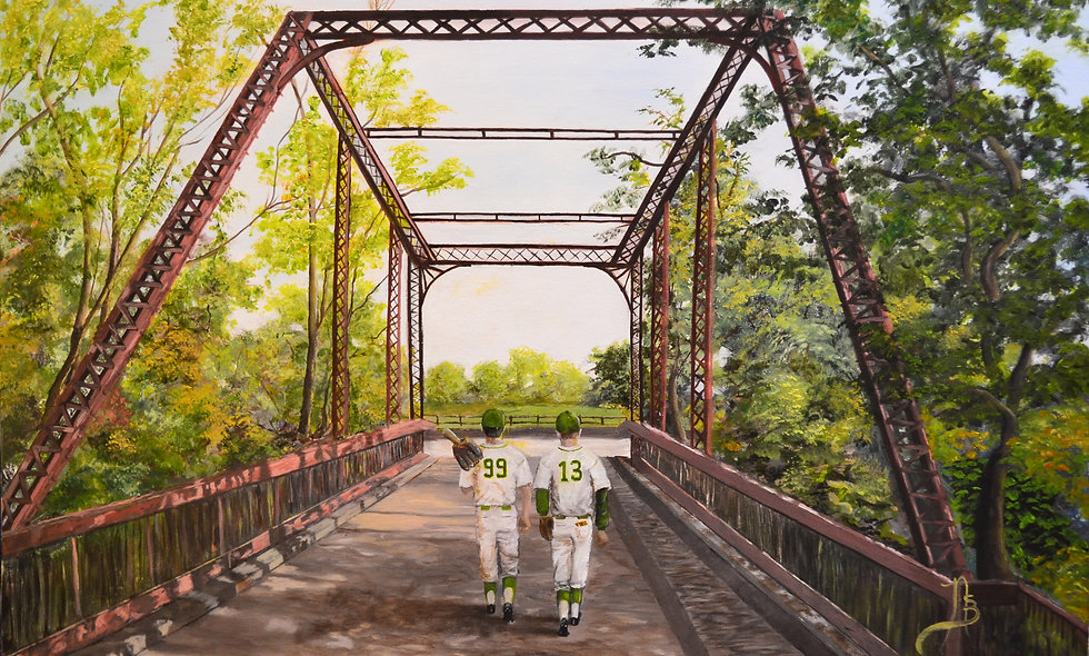 """""""READY FOR THE BIG FIELD""""   print on canvas"""