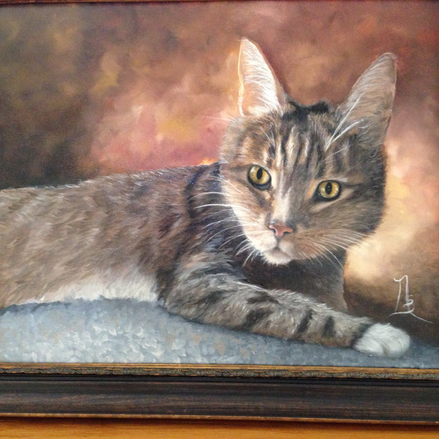 """Studley  16""""x20""""  Oil"""