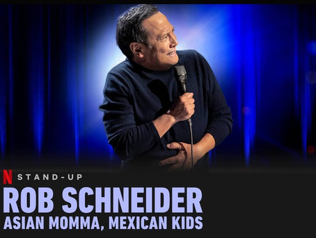 ROB SCHNEIDER WITH RELATIVES FROM DIFFERENT CONTINENTAL !!!