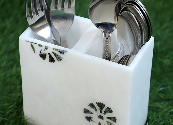 Mother of pearl work Cutlery Stand 🥄