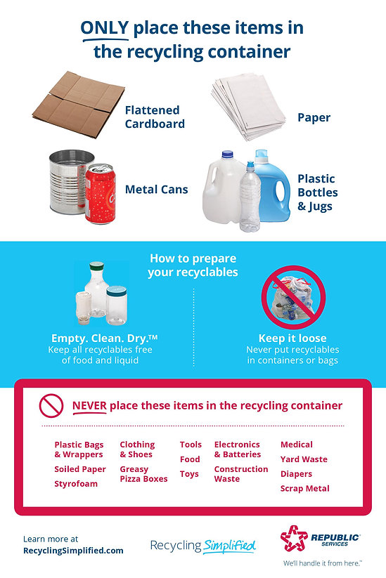 recycling examples