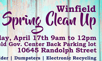 2021 Spring Clean Up flyer