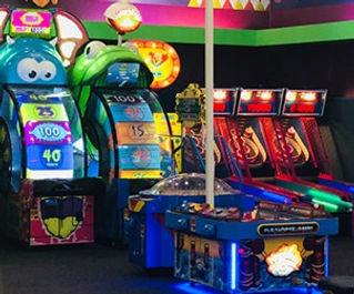 image of bowlng center arcade