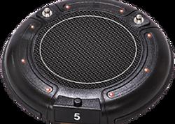 photo of black radio pager buzzer
