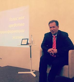 Лекция в клубе Эталон (Санкт-Петербург).