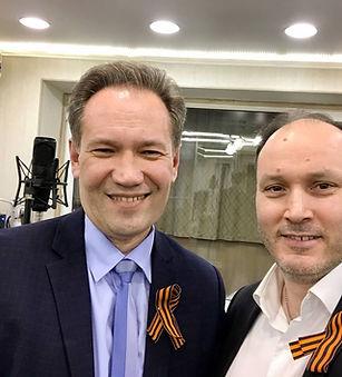 А. Данилов и И. Олексенко. 9 мая 2020 го
