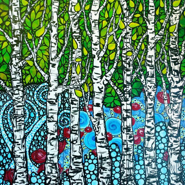 Birch Forest Magic