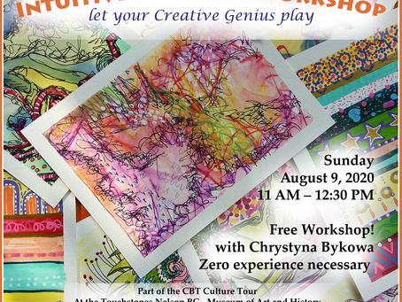 Intuitive  Postcard Workshop