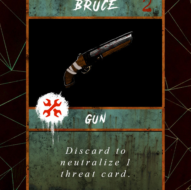 Sawed Off Shotgun Scav Card