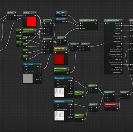 Material Transition Blueprint