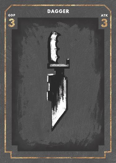 Dagger Loot Card