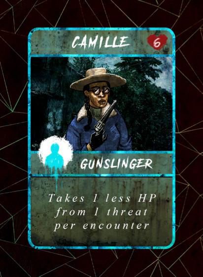Camille Survivor Card