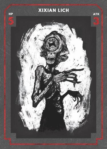 Lich Enemy Card