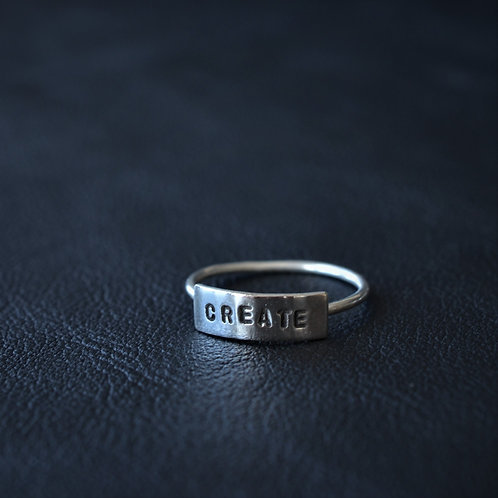 WORD RING // CREATE