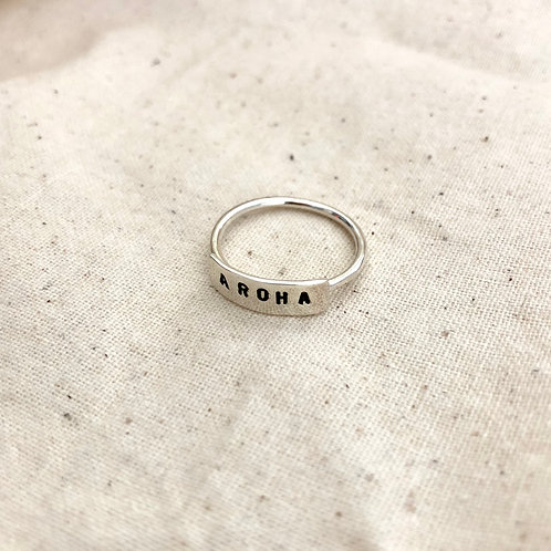 Word Ring // AROHA