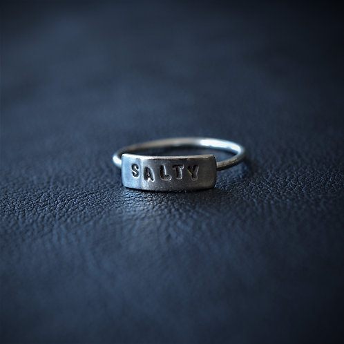 WORD RING // SALTY