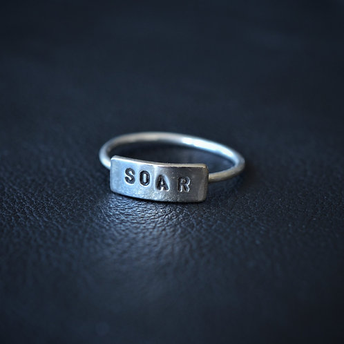 WORD RING // SOAR
