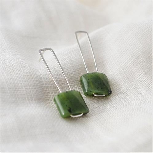 Greenstone Kete Earrings