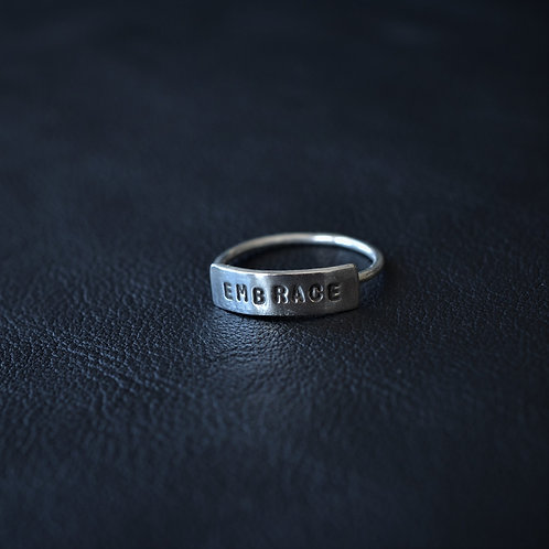 WORD RING // EMBRACE
