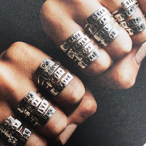 CUSTOM wrd ring//