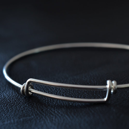 OVAL SLIDER BANGLE w/s