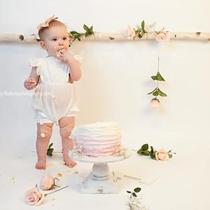 Jemma's 1 Year Cake Smash
