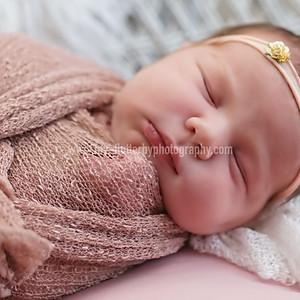 Baby Freya's Newborn Session