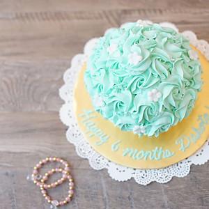 Dakota's 6 Month Cake Smash