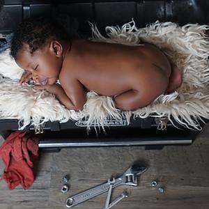 Mansa's Newborn Session
