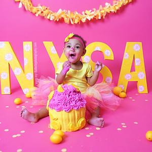 Nysa's 1 Year Cake Smash