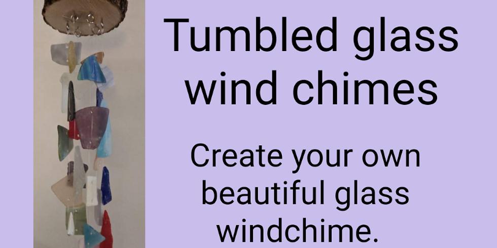 Tumbled Glass Windchimes