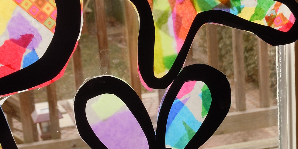 Children's Craft Time - Stained Glass with Tissue Paper