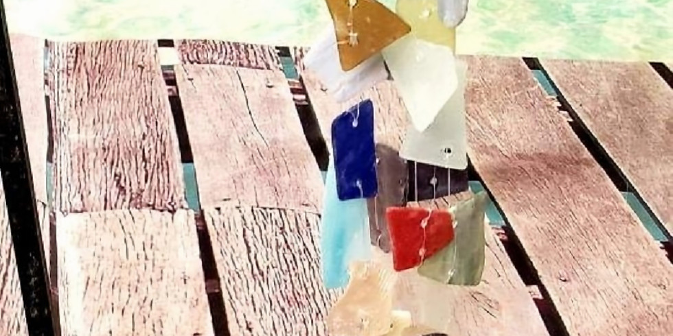 Online Sea Glass Wind Chime Class