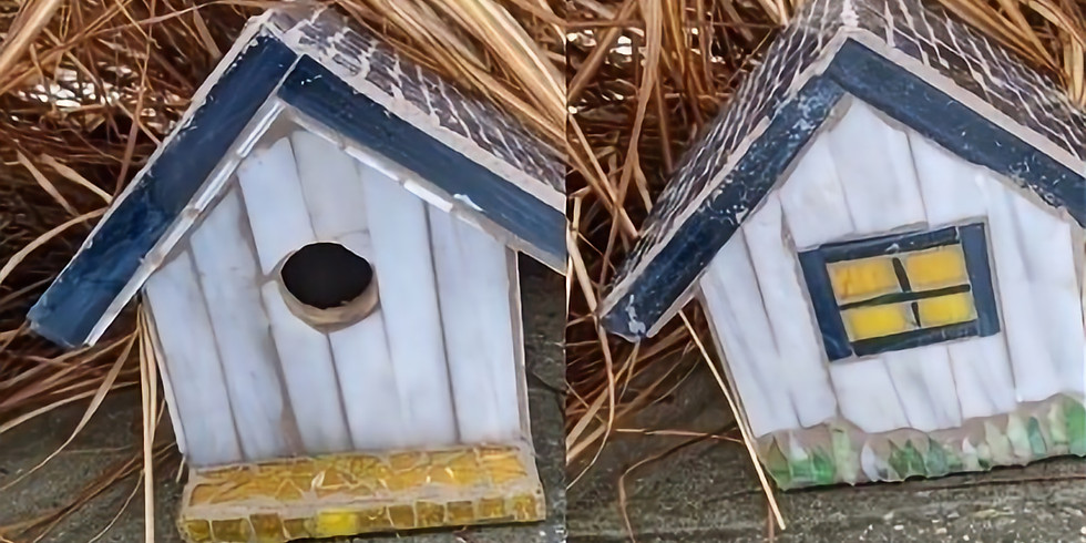 Flickerwood - Mosaic Birdhouse Workshop