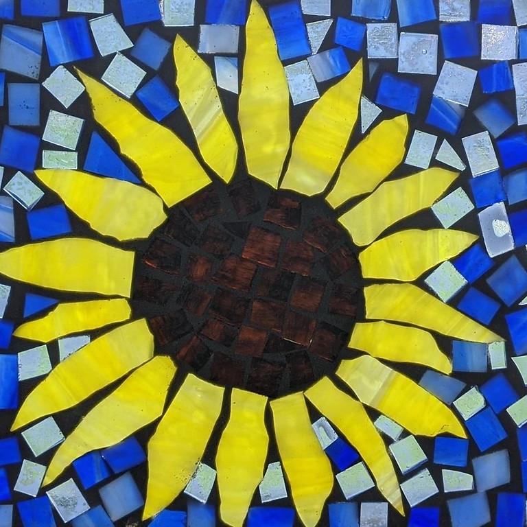 Harvest Ridge Winery - Sunflower Glass on Glass