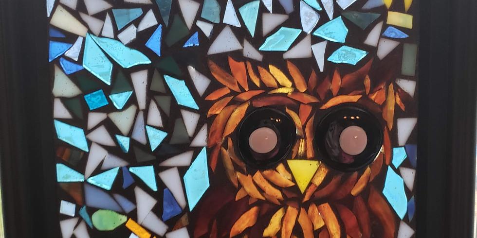 Whooo gives a Hoot Owl Mosaic Workshop