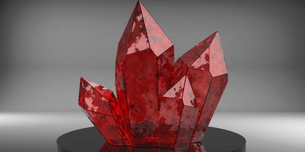 3D Crystal Cluster