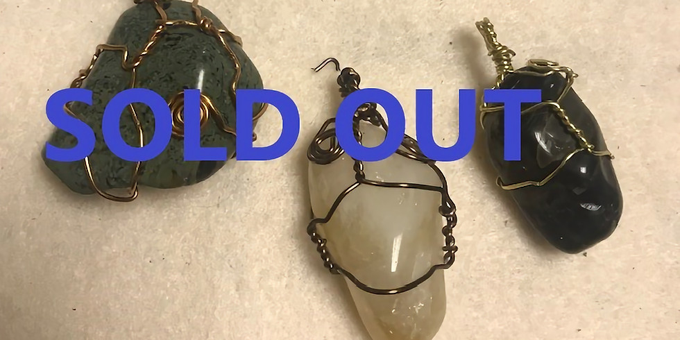 Jewlery Wire Wrapping (Necklace)