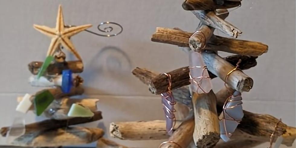 Drift Wood Trees (One Ornament /One Table Top Tree)