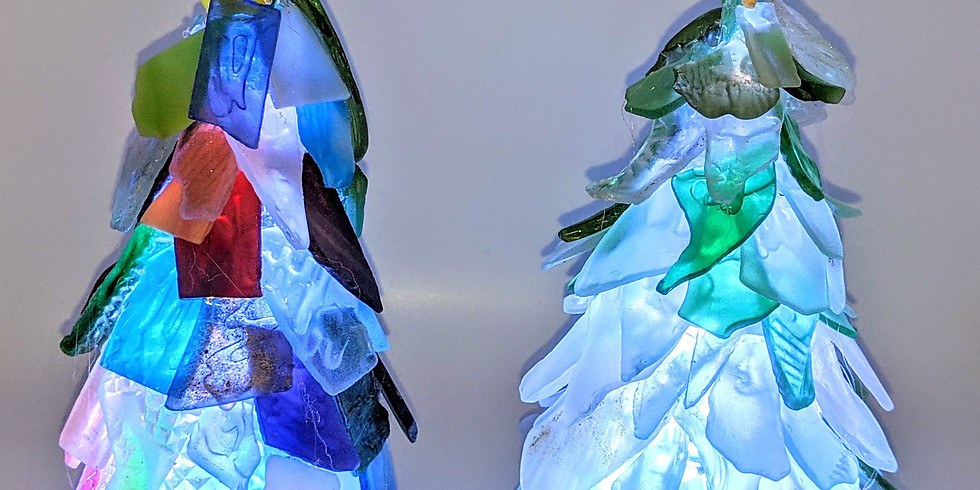 Britain Hill Venue and Vineyard Sea Glass Tree