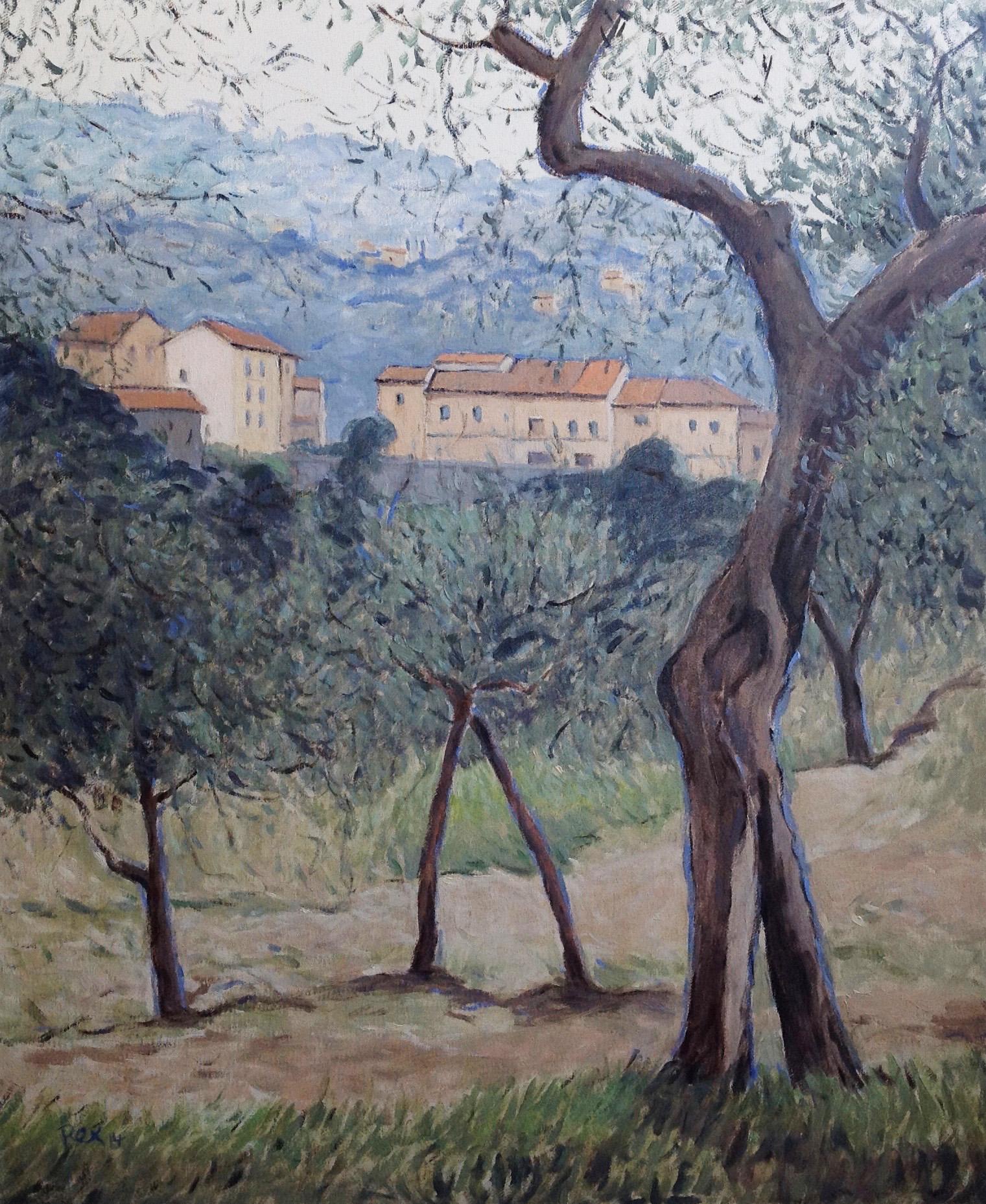 An der Via Orbignanese 65x79