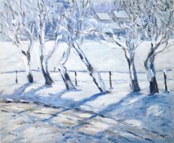 Winterlandschaf 60x50