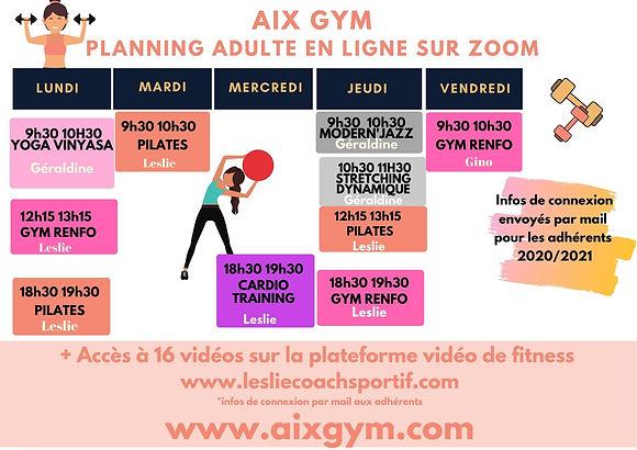 _AIX GYM PLANNING ACTIVITES ADULTE ZOOM.